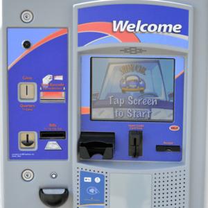 Shiny Car Car Wash Pay Stations