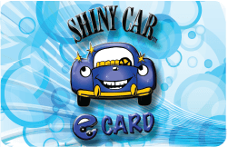 Shiny Car ShinE Card